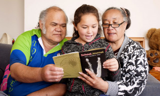Parents family and whanau