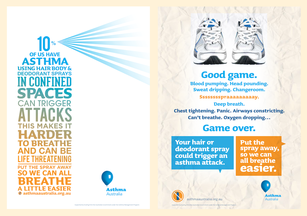 Asthma posters