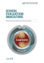 School evaluation indicators Effective practice for improvement and learner success