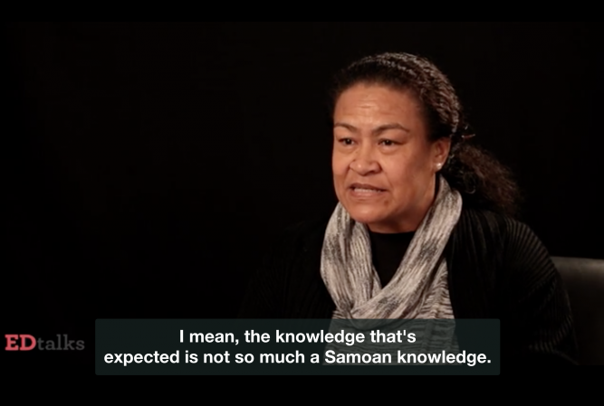 Samoan students assessment.