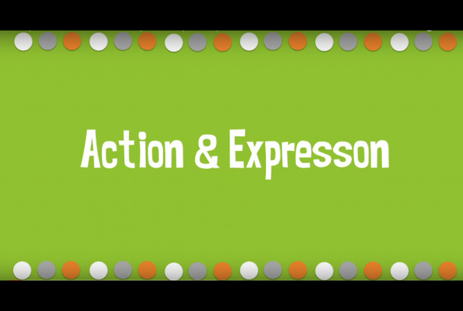 action and expression udl.