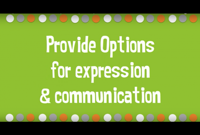 options for expression.