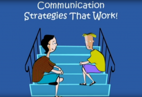 Poster frame communication strategies