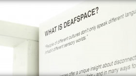 Posterframe DeafSpace