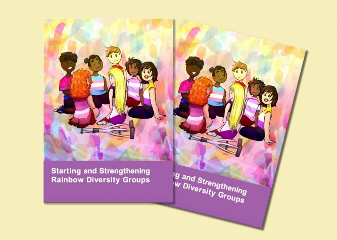 Image of cover of - Starting and Strengthening Rainbow Diversity Groups