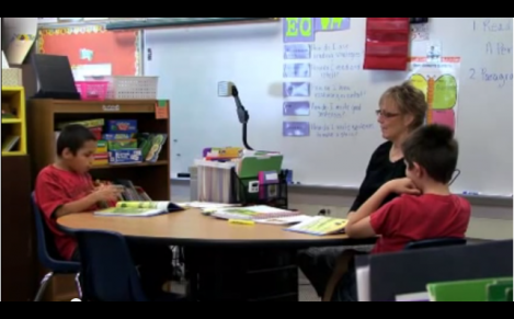 Teaching deaf students in the inclusive classroom Pt 1 video.