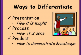 Ways to differentiate poster frame